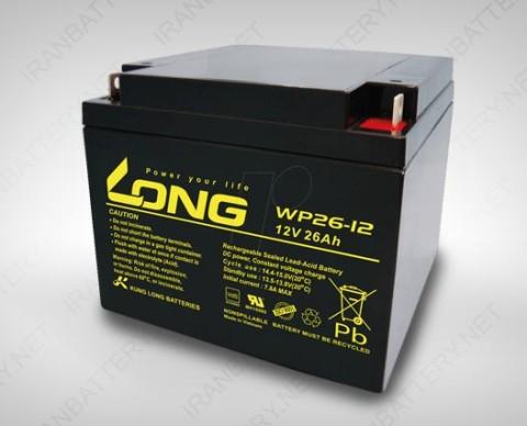 باتری یو پی اس لانگ wp26-12