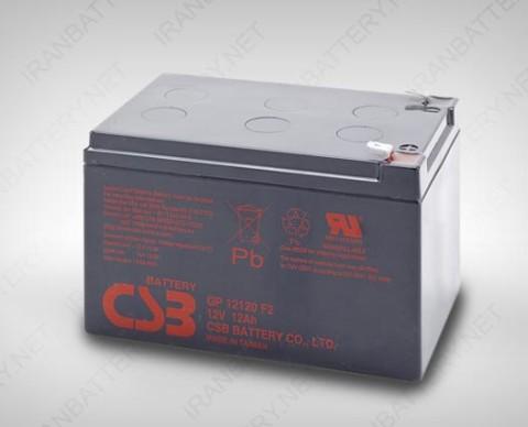 باتری یو پی اس CSB GP 12120